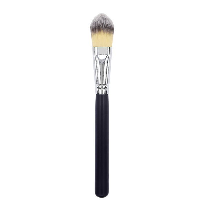 K1042 Synthetic Hair Cat's Tongued Foundation Brush Manufacturer