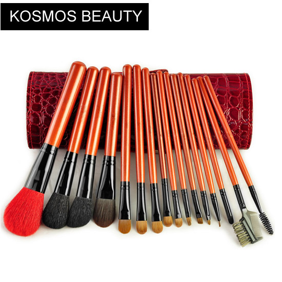 16 piece make up brush set