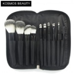 K10071 10 PCS Portable Makeup Brush Set
